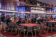Royal Caribbean, Harmony of the Seas, night at the casino