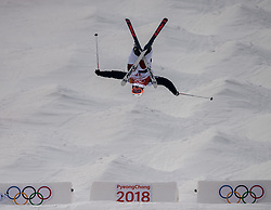 February 9, 2018 - Pyeongchang, South Korea - 180209 Sacha Theocharis of France compete in the Men's Moguls Qualification during the 2018 Winter Olympics on February 9, 2018 in Pyeongchang..Photo: Petter Arvidson / BILDBYRÃ…N / kod PA / 91956 (Credit Image: © Petter Arvidson/Bildbyran via ZUMA Press)