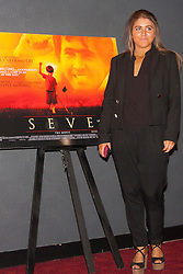 London, June 23rd 2014. Daughter of Seve Ballesteros, Carmen, attends  the London premiere of the film Seve, a biopic on the life of her father, the legendary Spanish golfer.