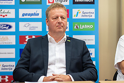 Igor Magdic, CEO of Terme 3000 Moravske Toplice during press conference of Slovenian Nordic Ski Jumping team, on June 23, 2020 in Hotel Livada, Moravske Toplice, Slovenia. Photo by Ales Cipot / Sportida