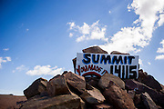 June 26-30 - Pikes Peak Colorado. Summit of Pikes Peak.