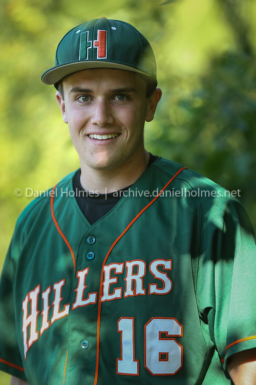 (7/6/20, MEDWAY, MA) Hopkinton's Drew Rancatore poses for a photo before the Senior Babe Ruth game against Medway at Medway High School in Medway on Monday. [Daily News and Wicked Local Photo/Dan Holmes]