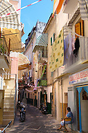 Narrow medieval steets of Bari old town, Puglia Italy .<br /> <br /> Visit our ITALY HISTORIC PLACES PHOTO COLLECTION for more   photos of Italy to download or buy as prints https://funkystock.photoshelter.com/gallery-collection/2b-Pictures-Images-of-Italy-Photos-of-Italian-Historic-Landmark-Sites/C0000qxA2zGFjd_k