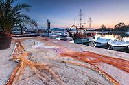 Fishing port in Sozopol