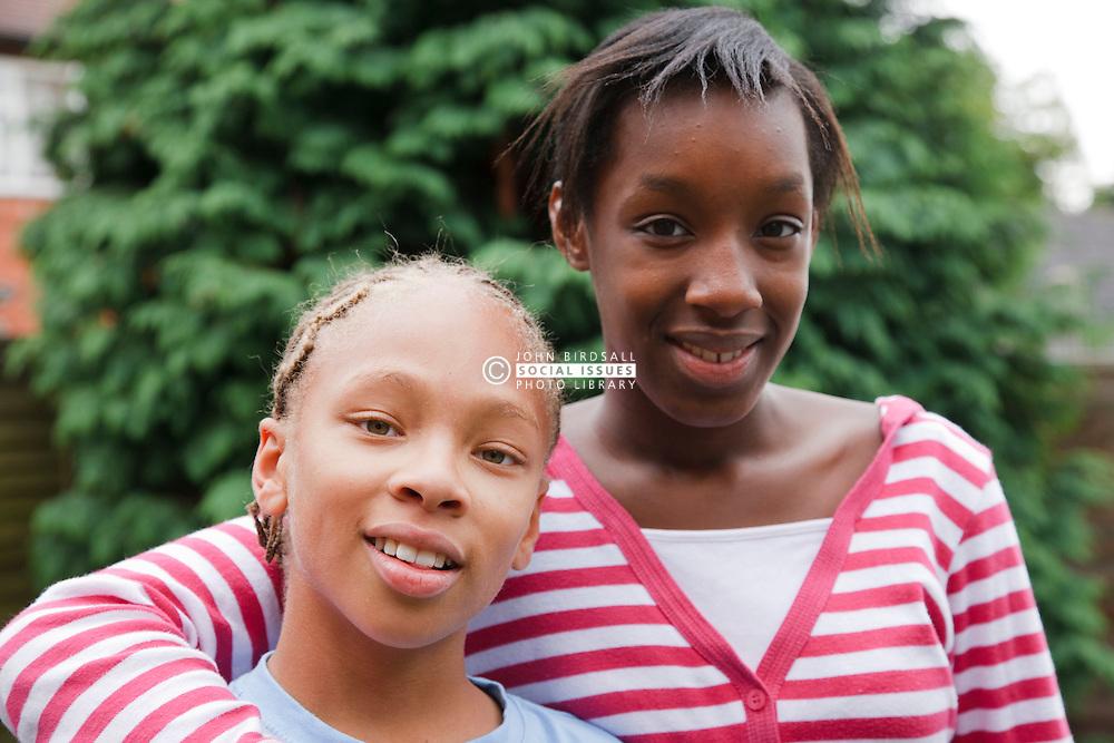 Portrait of siblings