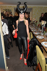 OLIVIA McCALL at the Bumpkin Halloween Dinner hosted by Marissa Hermer held at Bumpkin, 119 Sydney Street, London on 23rd October 2014.