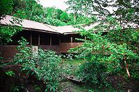 Jungle eco-lodge run by Borneo Adventure at Nanga Sumpa Longhouse in Sarawak.