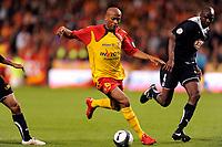 FOOTBALL - FRENCH CHAMPIONSHIP 2009/2010 - L1 - RC LENS v GIRONDINS BORDEAUX - 15/05/2010 - PHOTO JULIEN CROSNIER / DPPI - TOIFILOU MAOULIDA (RCL)