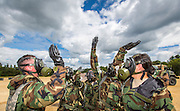 National Guard decontamination exercise Ft. McCoy, Wis. (Photo © Andy Manis)