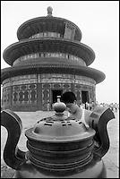Chine. Pekin. temple du Ciel. // China. Beijing. Tempel of Heaven.