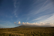 Ingleborough is the second highest mountain in the Yorkshire Dales, at 723 metres. It is one of the Yorkshire Three Peaks.