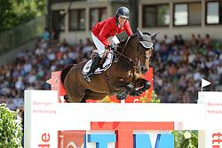 Kraut Laura, (USA), Nouvelle<br /> CSIO Nations Cup - Mannheim 2015<br /> © Hippo Foto - Stefan Lafrentz