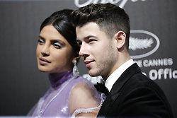 May 18, 2019 - Cannes, France - Nick Jonas, Priyanka Chopra. ''Love'' party Chopard in Cannes 2019.. Pictures: Laurent Guerin / EliotPress Set ID: 600943....239424 2000-01-01  Cannes France. (Credit Image: © Laurent Guerin/Starface via ZUMA Press)