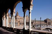 Seville's Plaza de Espana.