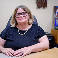 Mary Ellen Pellington is retiring from her position as librarian at the Octavia Fellin Public Library in Gallup.