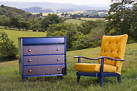Liquid Print Factory product photography, furniture outdoors.<br /> ©Stonehouse Photographic