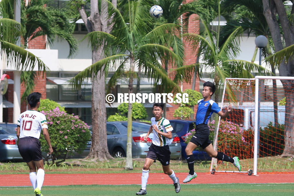 Temasek Junior College, Tuesday, April 12, 2016 — Anglo-Chinese Junior College (ACJC) solidified their place at the top of the group following a 1-0 win over Serangoon Junior College (SRJC) in the National A Division Football Championship.