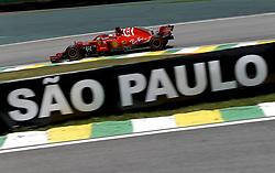 November 9, 2018 - Sao Paulo, Brazil - #5 Sebastian Vettel (GER, Scuderia Ferrari) at FIA Formula One World Championship 2018, Grand Prix of Brazil World Championship. (Credit Image: © Hoch Zwei via ZUMA Wire)