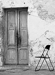Brindisi, centro storico. Vecchia abitazione nel quartiere di san pietro degli schiavoni, nei pressi del Nuovo Teatro Verdi.