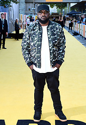 Ace attending the Yardie premiere at the BFI Southbank in London.