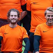 NLD/Zeist/20191123 - Voetbal selectiedag Nederlandse artiesten,  Tim Akkerman en John ewbank