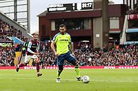 Aston Villa v Derby County - Sky Bet Championship<br /> BIRMINGHAM, ENGLAND - APRIL 28 :  Bradley Johnson, of Derby County, in action against Aston Villa