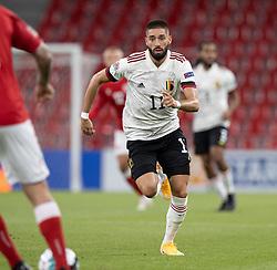 Yannick Carrasco (Belgien) under UEFA Nations League kampen mellem Danmark og Belgien den 5. september 2020 i Parken, København (Foto: Claus Birch).