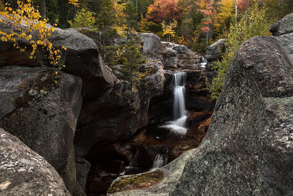 Autumn trip to Maine's Grafton Notch.