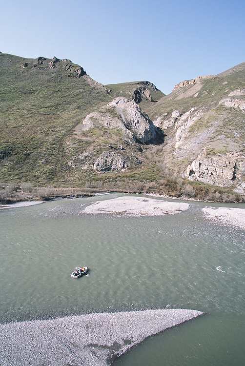 Alaska. ANWR. River Rafting the Kongakut River.