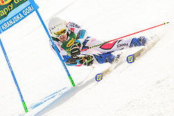 March 9, 2019 - Kranjska Gora, Kranjska Gora, Slovenia - Victor Muffat - Jeandet of France in action during Audi FIS Ski World Cup Vitranc on March 8, 2019 in Kranjska Gora, Slovenia. (Credit Image: © Rok Rakun/Pacific Press via ZUMA Wire)