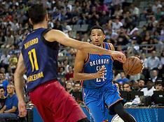 Barcelona- NBA Global Games - Barcelona vs Oklahoma City Thunder - 5 Oct 2016 - Copy