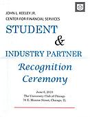 Keeley Student & Industry Partner Recognition Ceremony June 6, 2019