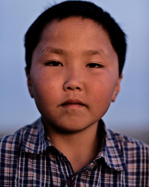 Portraits of a Mongolian Boy