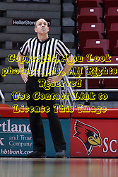 01 January 2017: Brad Maxey during an NCAA Missouri Valley Conference Women's Basketball game between Illinois State University Redbirds the Braves of Bradley at Redbird Arena in Normal Illinois.