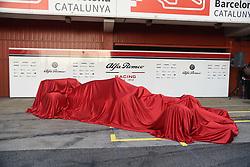 February 18, 2019 - Barcelona, Spain - Alfa Romeo Racing present a new Formula One car before winter test in Barcelona, on February 18, 2019. (Credit Image: © Andrea Diodato/NurPhoto via ZUMA Press)