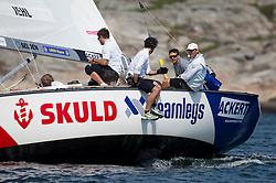 Iehl v Robertsson Photo: Dan Ljungsvik