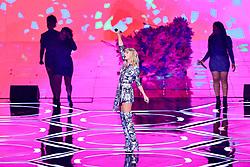 November 11, 2019, Shanghai, China: TAYLOR SWIFT performs at the 2019 Tmall Singles Day Gala at Mercedes-Benz Arena. (Credit Image: © Imaginechina via ZUMA Press)