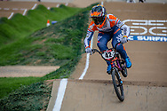 #42 (SCHIPPERS Jay) NED at Round 2 of the 2020 UCI BMX Supercross World Cup in Shepparton, Australia.