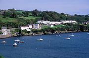 Glandore village and harbour, County Cork, Ireland