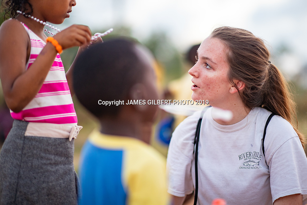 Rachel Whitehouse<br /> <br /> St Joe mission trip to Belize 2019. JAMES GILBERT PHOTO 2019