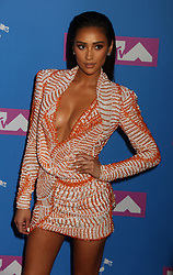 August 20, 2018 - New York City, New York, U.S. - SHAY MITCHELL attends the arrivals for the 2018 MTV 'VMAS' held at Radio City Music Hall. (Credit Image: © Nancy Kaszerman via ZUMA Wire)