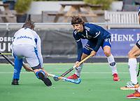 AMSTELVEEN - Lukas Sutorius (Pinoke)    tijdens   hoofdklasse hockeywedstrijd mannen, Pinoke-Kampong (2-5) . COPYRIGHT KOEN SUYK