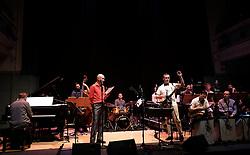 Edinburgh International Film Festival, Friday 23rd June 2017<br /> <br /> TOMMY SMITH RECEPTION with the Scottish National Jazz Orchestra<br /> <br /> Tommy Smith, Tam Dean Burn<br /> <br /> (c) Alex Todd | Edinburgh Elite media