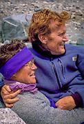 Greg Mortimer and Margaret Werner in Parque Nacional los Glaciares, Patagonia, Argentina.