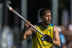 Aaron Kleinschmidt of Australia during the Champions Trophy finale between the Australia and India on the fields of BH&BC Breda on Juli 1, 2018 in Breda, the Netherlands.