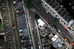 UK ENGLAND LONDON 22JUL08 - Aerial view detail of urban sprawl in London during zeppelin flight over the city...jre/Photo by Jiri Rezac..© Jiri Rezac 2008..Contact: +44 (0) 7050 110 417.Mobile:  +44 (0) 7801 337 683.Office:  +44 (0) 20 8968 9635..Email:   jiri@jirirezac.com.Web:    www.jirirezac.com..© All images Jiri Rezac 2008 - All rights reserved.