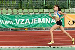Pina Lihteneger Vidmajer of Slovenia during the women's 1500m at athletics meeting Ljubljana Grand Prix 2010 for 5th Memorial Matic Sustersic and Patrik Cvetan on August 29, 2010, in Ljubljana, Slovenia. (Photo by Matic Klansek Velej / Sportida)