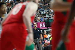 06.09.2014, City Arena, Barcelona, ESP, FIBA WM, USA vs Mexiko, im Bild USA's coach Mike Krzyzewski // during FIBA Basketball World Cup Spain 2014 match between USA and Mexico at the City Arena in Barcelona, Spain on 2014/09/06. EXPA Pictures © 2014, PhotoCredit: EXPA/ Alterphotos/ Acero<br /> <br /> *****ATTENTION - OUT of ESP, SUI*****
