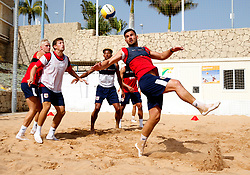 Bailey Wright of Bristol City plays beach football - Mandatory by-line: Matt McNulty/JMP - 18/07/2017 - FOOTBALL - Tenerife Top Training Centre - Costa Adeje, Tenerife - Pre-Season Training