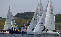 Day one of the Silvers Marine Scottish Series 2015, the largest sailing event in Scotland organised by the  Clyde Cruising Club<br /> Racing on Loch Fyne from 22rd-24th May 2015<br /> <br /> Sigma 33, GBR4607, Leaky Roof II, Harper/Robertson, CCC/Cove SC<br /> <br /> Credit : Marc Turner / CCC<br /> For further information contact<br /> Iain Hurrel<br /> Mobile : 07766 116451<br /> Email : info@marine.blast.com<br /> <br /> For a full list of Silvers Marine Scottish Series sponsors visit http://www.clyde.org/scottish-series/sponsors/